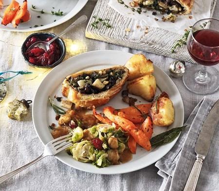 Vegetarian Christmas Lunch for 2