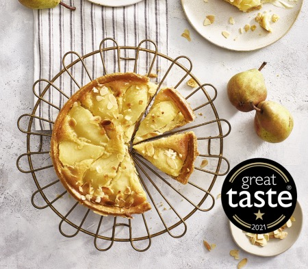 Pear & Ginger Tart