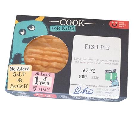 Kids Fish Pie