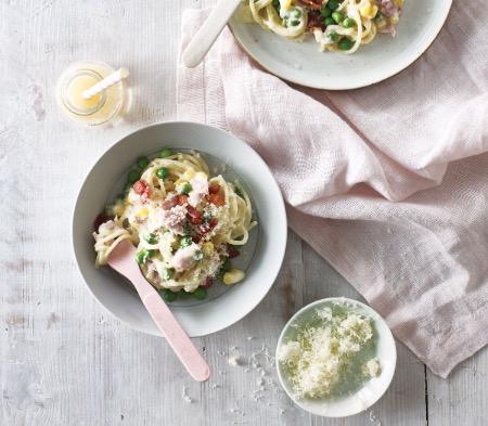 Kids Spaghetti Carbonara