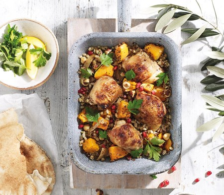 Persian Chicken with Quinoa & Butternut