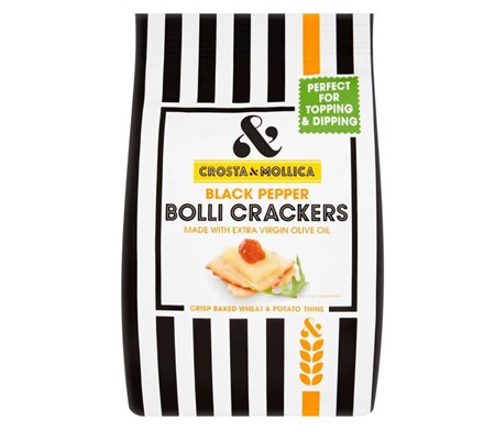 Bolli Crisp Baked Italian Crackers
