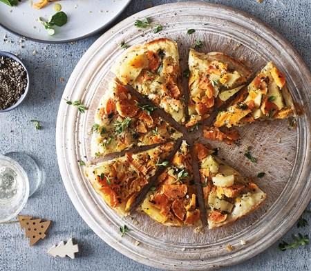 Winter Vegetable Tarte Tatin