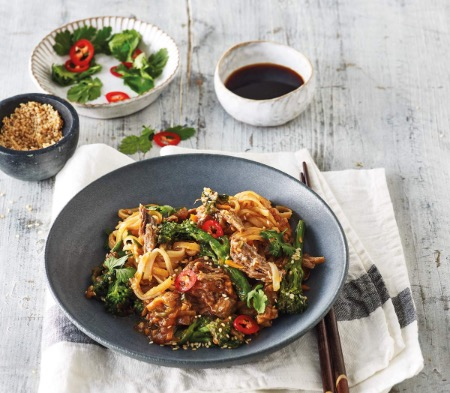 Sticky Soy & Ginger Beef