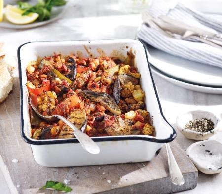 Spiced Cauliflower & Aubergine Shakshuka