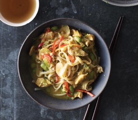 Chicken Noodle Laksa