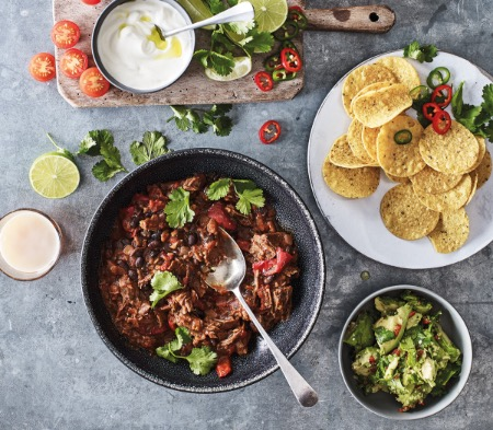 Pulled Beef Chilli