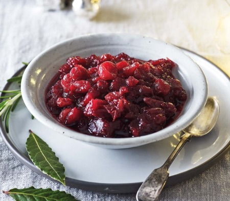 Cranberry Sauce with Port & Orange