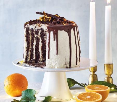 Chocolate & Orange Tower