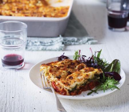 Roasted Vegetable Lasagne