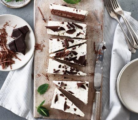 Dark Chocolate & Mint Terrine