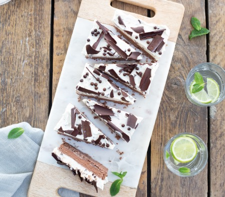 Dark Chocolate & Mint Terrine