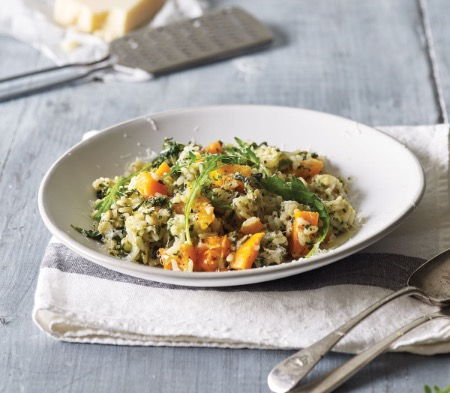Butternut Squash & Goat's Cheese Risotto