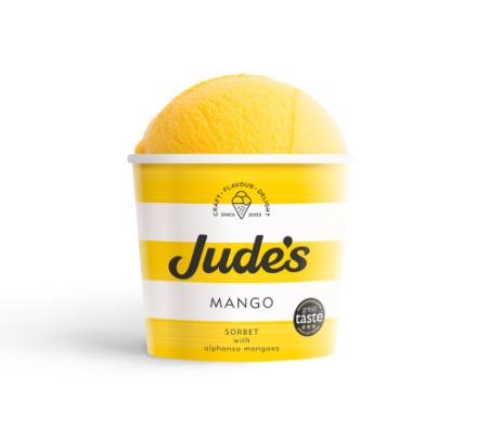 Jude's  Mango Sorbet