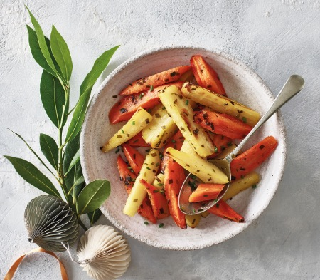 Marmalade Roasted Carrots & Parsnips