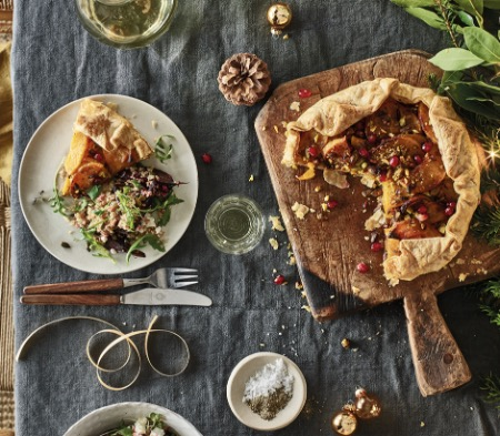 Butternut Squash & Red Onion Galette