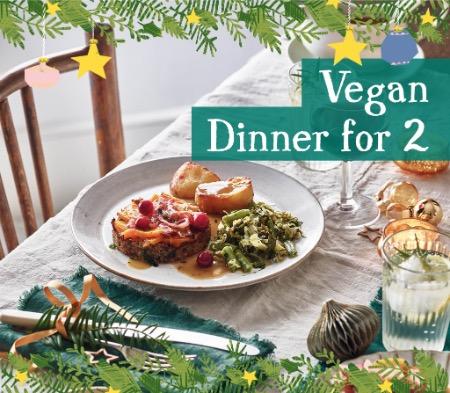 Christmas Vegan Dinner For 2