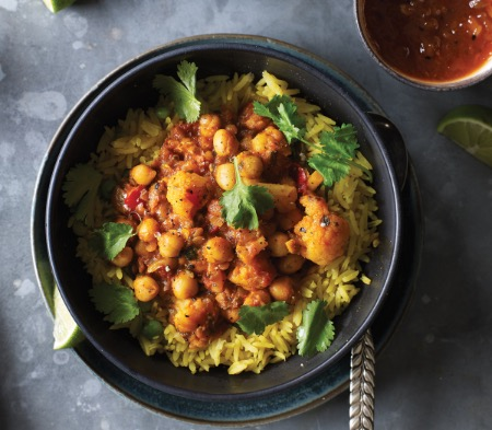 Vegetable & Chickpea Curry