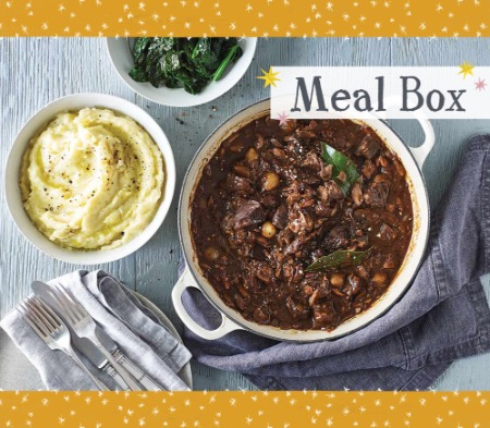 Beef Bourguignon Meal Box for 4