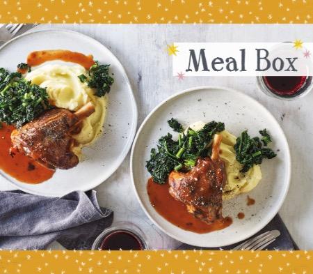 Lamb Shanks Meal Box for 4