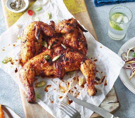 Piri Piri Spatchcock Chicken