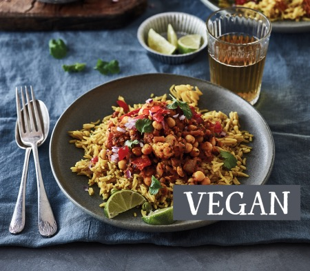 Roasted Vegetable and Chickpea Curry