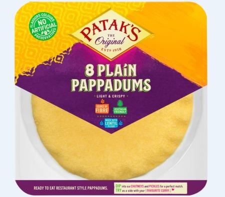 Plain Pappadums