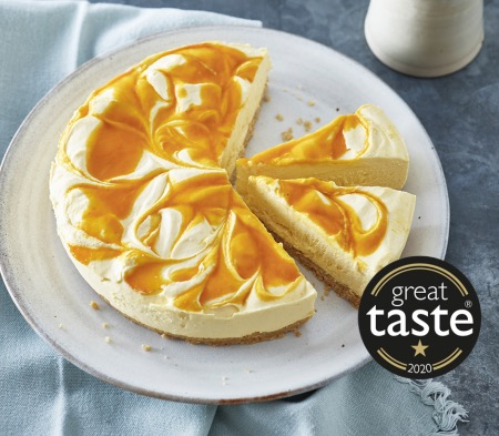 Mango & Passion Fruit Cheesecake