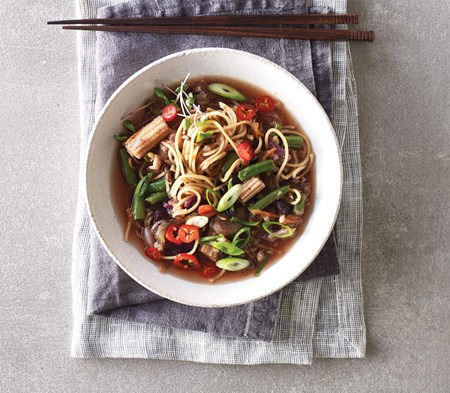 Vegetable Japanese Ramen